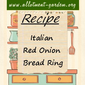 italian red onion bread ring
