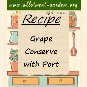 grape conserve with port