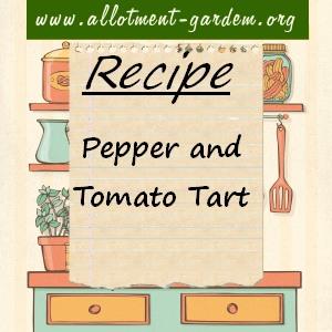 pepper and tomato tart