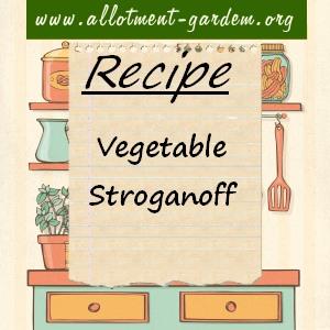 vegetable stroganoff
