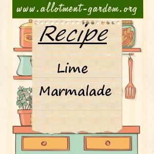lime marmalade
