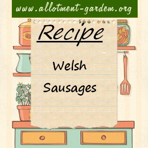 welsh sausages
