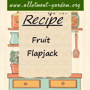 fruit flapjack