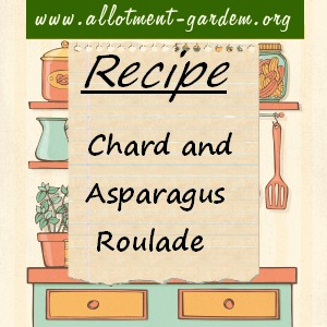 chard and asparagus roulade
