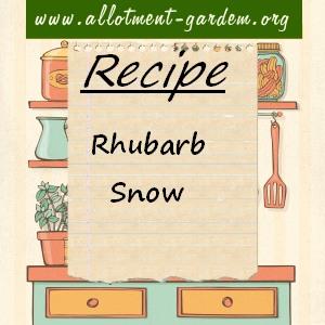 rhubarb snow