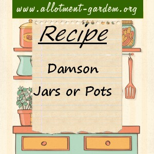 damson jars or pots