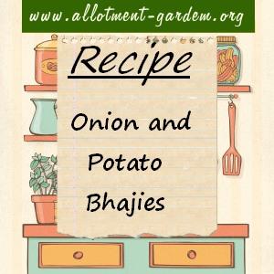 Onion and Potato Bhaji