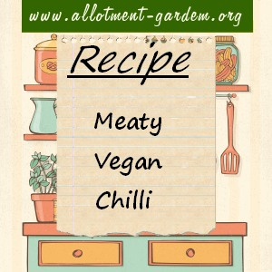 Meaty Vegan Chilli