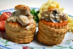 Puff Pastry Vol-au-Vents