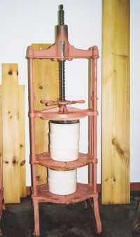 Traditional Cheese Press