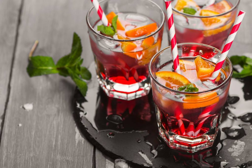 Fruit Syrups Drinks