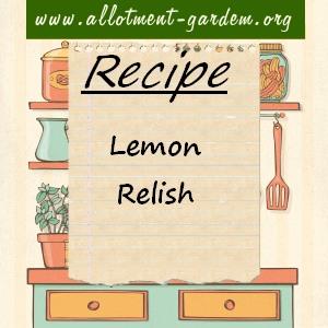 lemon relish