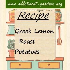 Greek Lemon Roast Potatoes Recipe