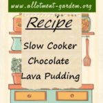 Slow Cooker Chocolate Lava Pudding