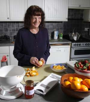 Val Harrison Making Marmalade