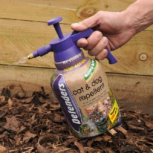 Cat And Dog Repellent Spray From Plant Protection