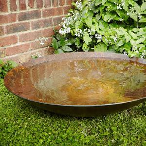 Corten Steel Water Bowls and Fire Bowls