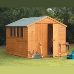 Forest 10x8 Heavy Duty Shiplap Apex Shed