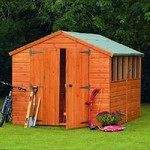 Forest 12x8 Heavy Duty Shiplap Apex Shed