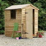 Forest 6x4 Pressure Treated Overlap Apex Shed