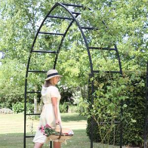 Gothic Garden Arch From Garden Structures Allotment Shop