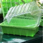 Half Tray Seed Trays and Optional Lids