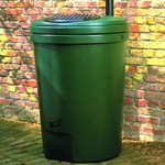 Harcostar 350 Litre Water Butts & Free Rain Trap