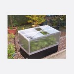 Large Raised Bed with Large Cold Frame