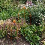 Lobster Pot Shaped Plant Supports