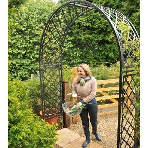Metal Arches Garden Structures From Allotment Shop