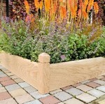 Oak Raised Beds