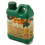 Organic Liquid Fruit and Veg Feed