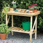 Potting Benches and Equipment