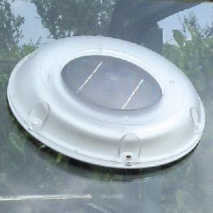 Solar Vent Fan >> Solar Powered Extractor Fan from Greenhouse Fans, Louvres ...