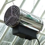 Stainless Steel 2.8kW Fan Heater
