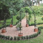 Steel Fruit Tree Gazebo