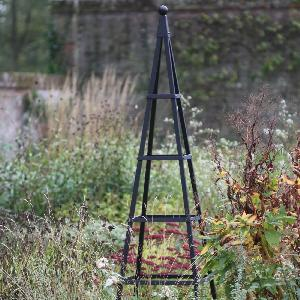 Steel Pyramid Obelisk From Garden Structures Allotment Shop
