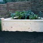 Superior Corner Wooden Raised Beds