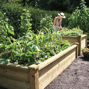 Superior Wooden Raised Bed Kits From Raised Bed Kits