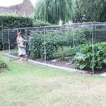 Walk-In Aluminium Fruit and Vegetable Cages