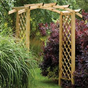 Wooden Arches Garden Structures From Allotment Shop