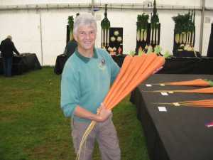 John Trim - Vegetable Show Growing