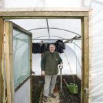 Growing in a Polytunnel in January