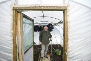 January Polytunnel