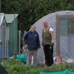 Growing in a Polytunnel in March