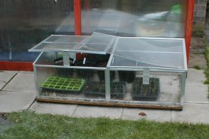 Glass Aluminium Coldframe