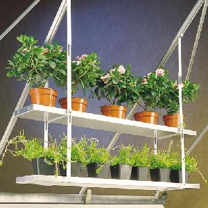 Greenhouse Hanging Shelves