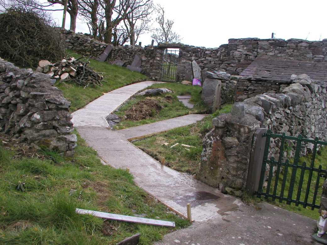 How to Build a Concrete Garden Path - Allotment & Gardens