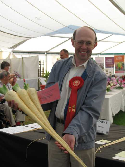 First Prize Long Parsnips
