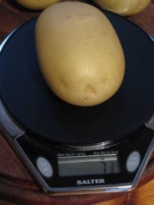 Show Weight Potato